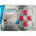 Avandra (Avanafil) 100mg X 8 Tablets