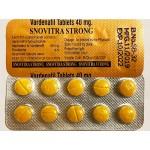 Snovitra Strong - 40mg Vardenafil / Levitra 40-Tablets