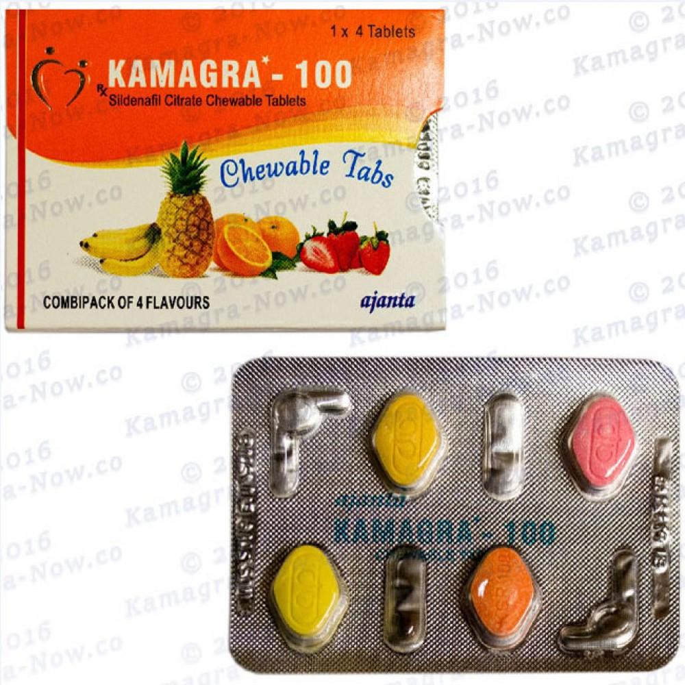 Kamagra Soft 100mg (X60 Tabs)