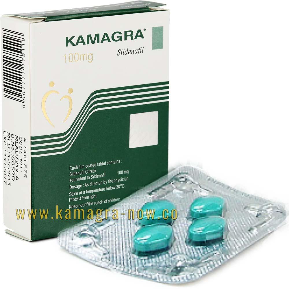 Kamagra (Sildenafil Citrate) 100mg X 100 Tablets