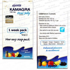 Kamagra Oral Jelly 100mg Jellies X 10 Sachets