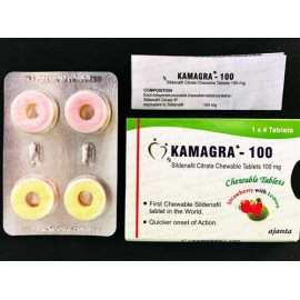 Kamagra Polo Chewable 100mg (X 4 Pills)