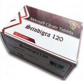 Scindigra (120mg Sildenafil) X10 Pills
