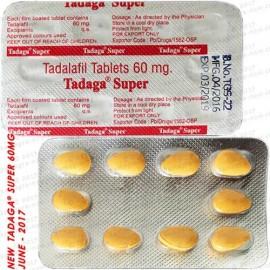Vidalista X10 pills (60mgTadalafil/Cialis)