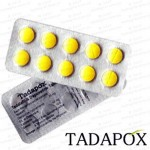 TADAPOX-80 (Tadalafil 20mg + Dapoxetine 60mg) X10 Pills