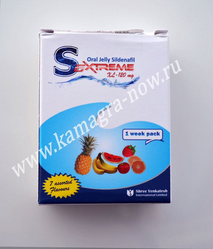 Sextreme Oral Jelly 120mg Extra strength